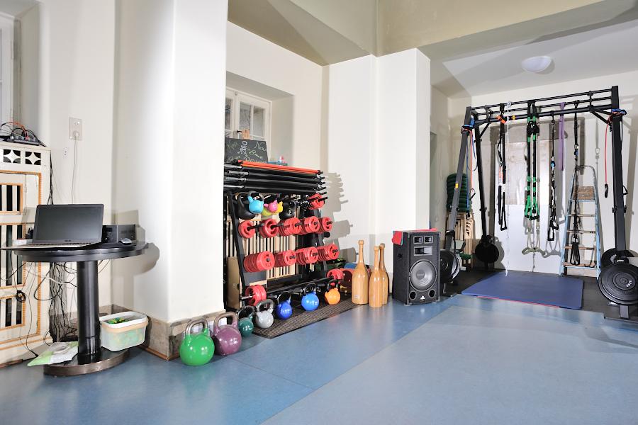 Fitnessgeräte & Schlingengerüst