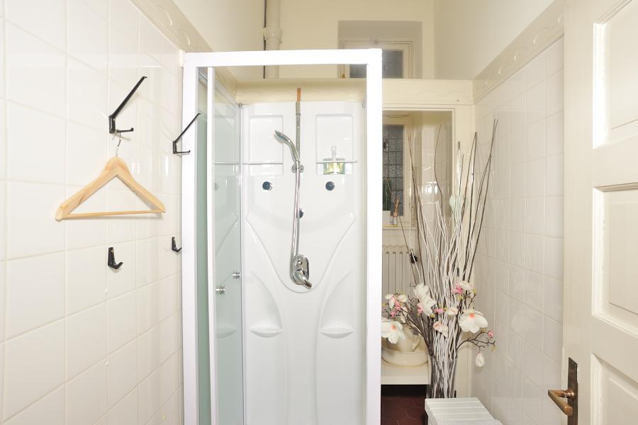 Der Duschbereich